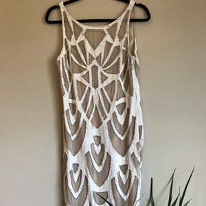 Needle & Thread beading and sequins dress